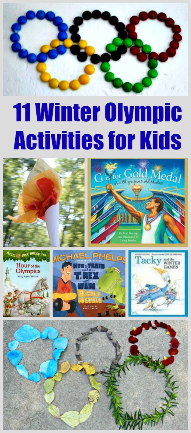 11 Winter Olympic Activities for Kids | 2018 Winter Games ideas for preschool and elementary from @kcedventures  #olympics #games #2018