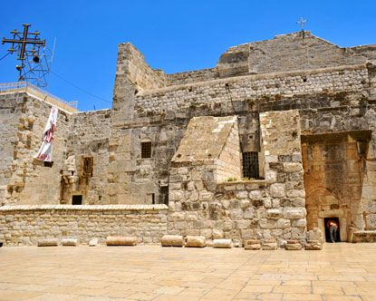 The Church of the Nativity, located in the heart of Bethlehem, is the most sacred site in the Christian faith, the birthplace of Jesus Christ, marked by the Church of the Nativity. This, of course, is no ordinary church; the entryway is extremely small, while inside, visitors are exposed to a vast nave and beautiful mosaics and artwork. The Nativity Church Bethlehem is not only the oldest church in Israel, but it is one of the oldest continuously operating churches in the world.