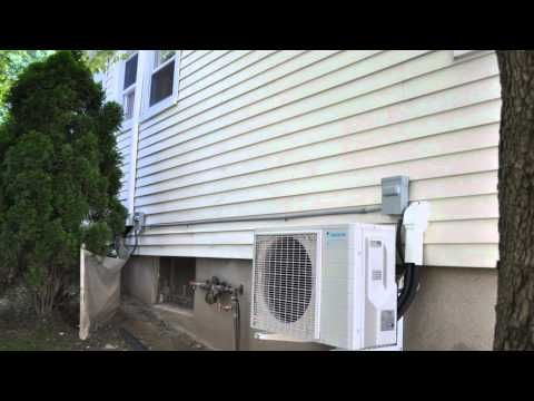 Daikin Quaternity ductless mini split air conditioner and heat pump - Get your service done from Apex Air experts