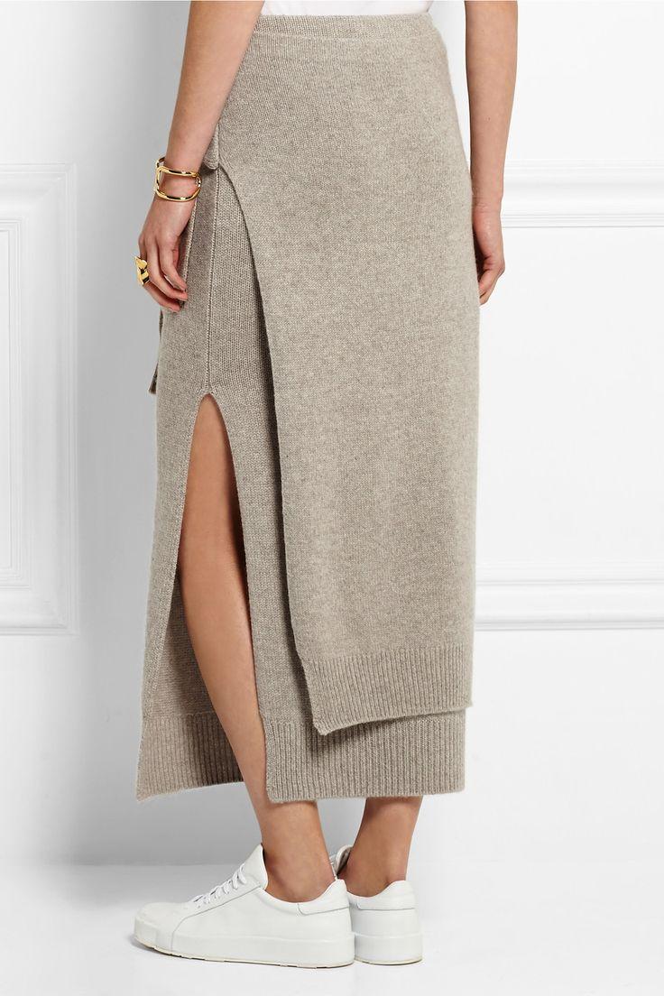 Joseph | Cashmere midi skirt | NET-A-PORTER.COM