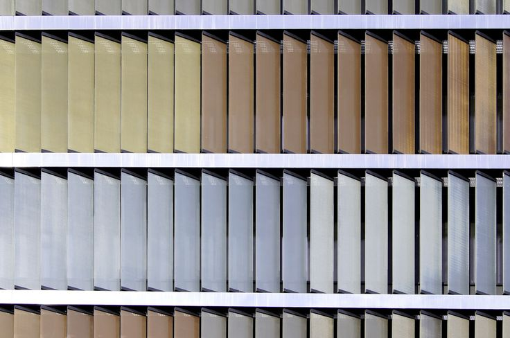 Metal-Coated Fabrics - VISION / SEFAR Architecture