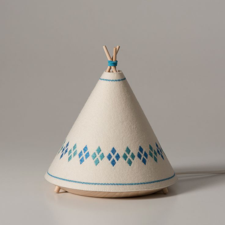 Tipi Lamps / Product Design / Kid Design / Crafts / Industrial / Toy Design / Lightning / Homemade / Handmade / Embroidery / Cute / Ethnic