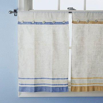 DIY Kitchen Window Treatments bhg.com