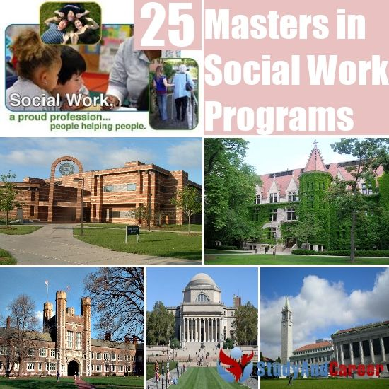 25 Best Masters in Social Work Programs (University of Texas or University of Southern California would be amazing!)