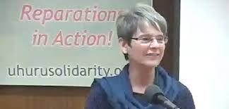 Chairwoman Penny Hess of the uhuru solidarity movement