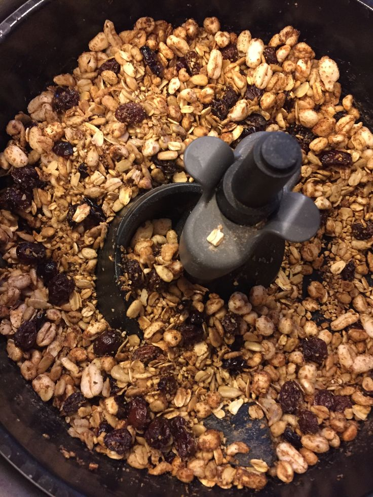 Maple Granola in the Actifry