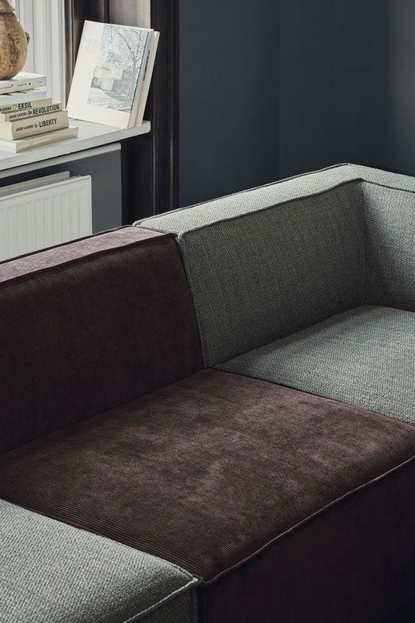 Modulsofa Textilsofa Mitfarbendekorieren Velourssofa Eigenessofa In 2020 Modul Sofa Chaiselongue Sofa Sofa