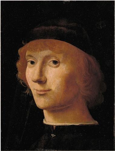 Portrait of a Man - Antonello da Messina