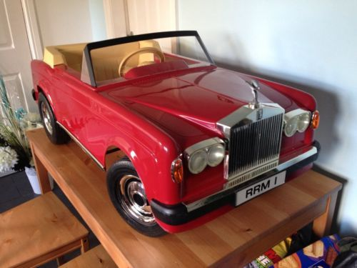 Tri Ang Sharna Rolls Royce Pedal Car Replacement