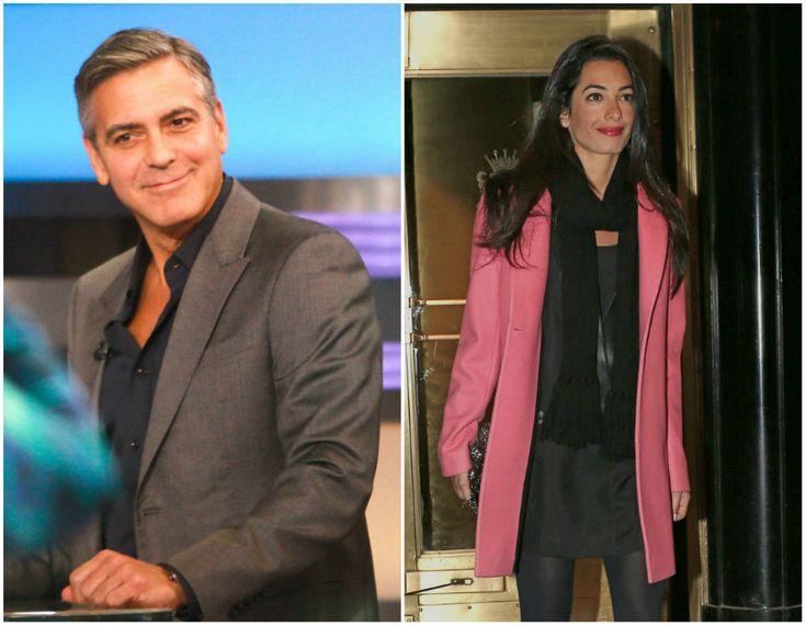 George Clooney e Amal Alamuddin: è arrivata la licenza di matrimonio - Tu Style