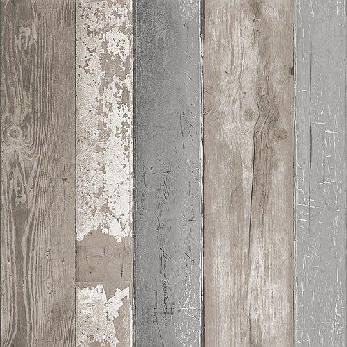 vtwonen Vliesbehang - Natural Wood
