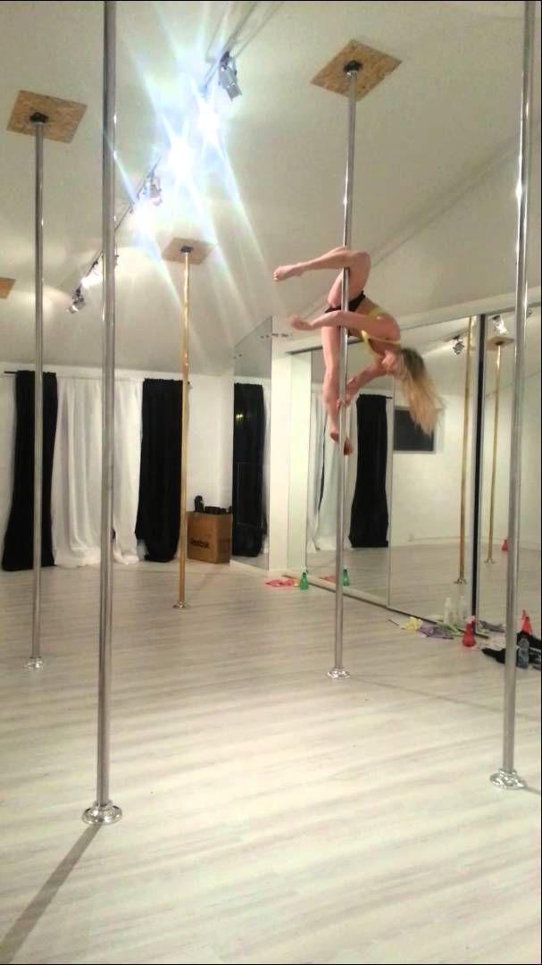 Pole fitness - Intermediate long combo