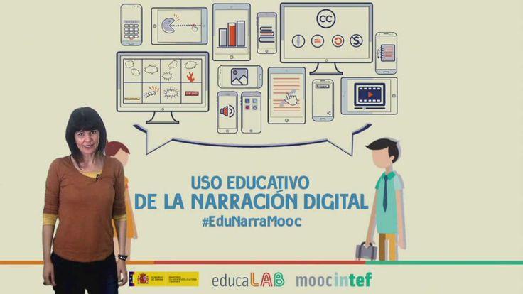 """Vídeo 3 de la Unidad 1 del MOOC de @educaINTEF """"Uso educativo de la narración digital"""" #EduNarraMooc. 1ª Edición 2015."""