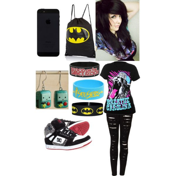 U0026quot;Scene/Emo Outfitu0026quot; by sence-emo-chick18 on Polyvore ...