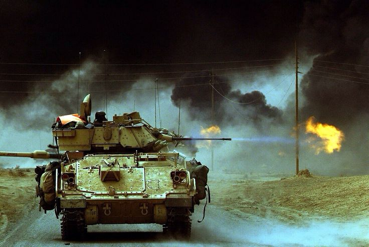 Bradley Fighting Vehicle - Iraq war