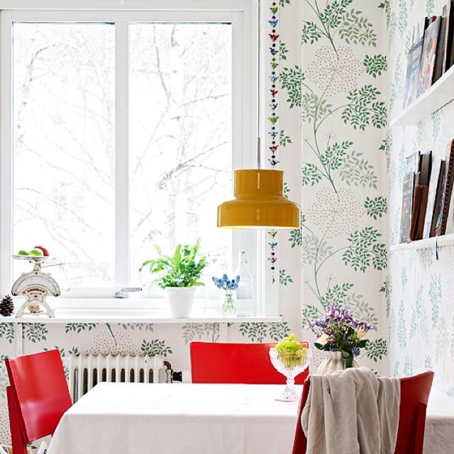 10+ images about Matplats / Kök on Pinterest | Black chairs ...