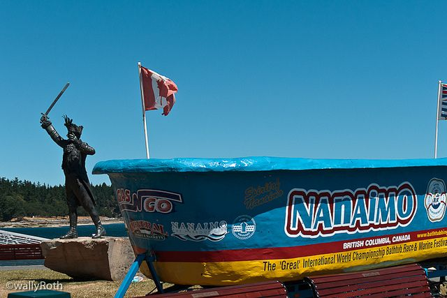The #Nanaimo Bathtub race -- yes, this does exist! #explorebc