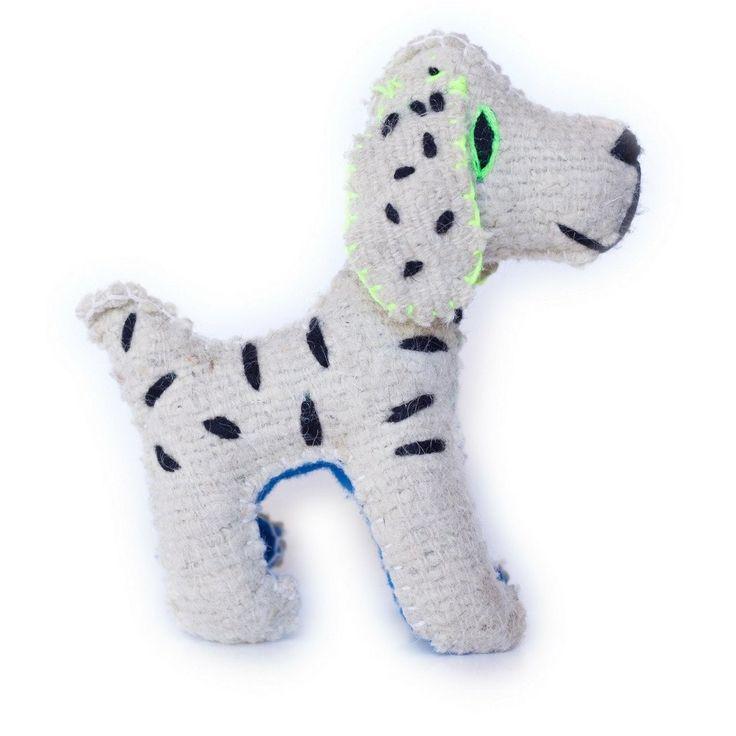 Wool Stuffed Puppy