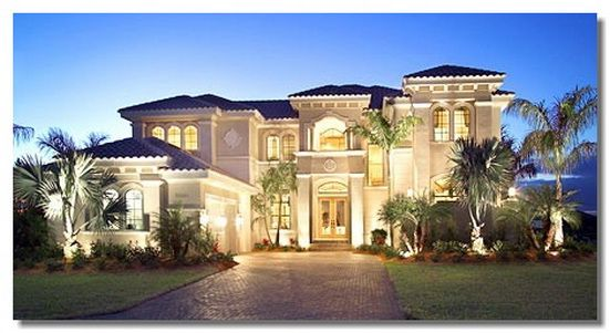Mediterranean Style Home | Mediterranean Dream House Design The