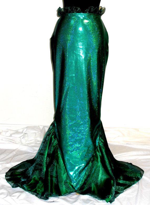 Ariel F Little Mermaid Costume Adult with Foam Shell Bra
