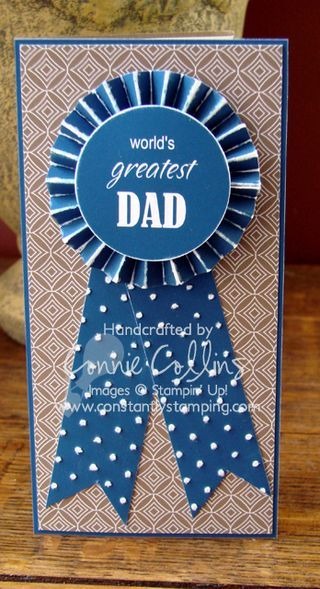 Blue Ribbon Father's Day Card                                                                                                                                                                                 Mehr