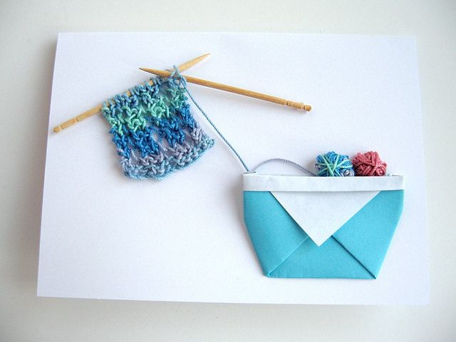 Knitting Patterns For Christmas Cards : 114 best images about kaarten maken on Pinterest Free printable, Iris foldi...