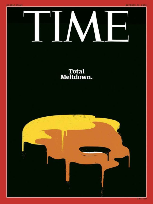 "Cuban-born artist Ed Rodriguez has gained international attention for his powerful ""Trump Meltdown"" and Der Spiegel magazine covers."