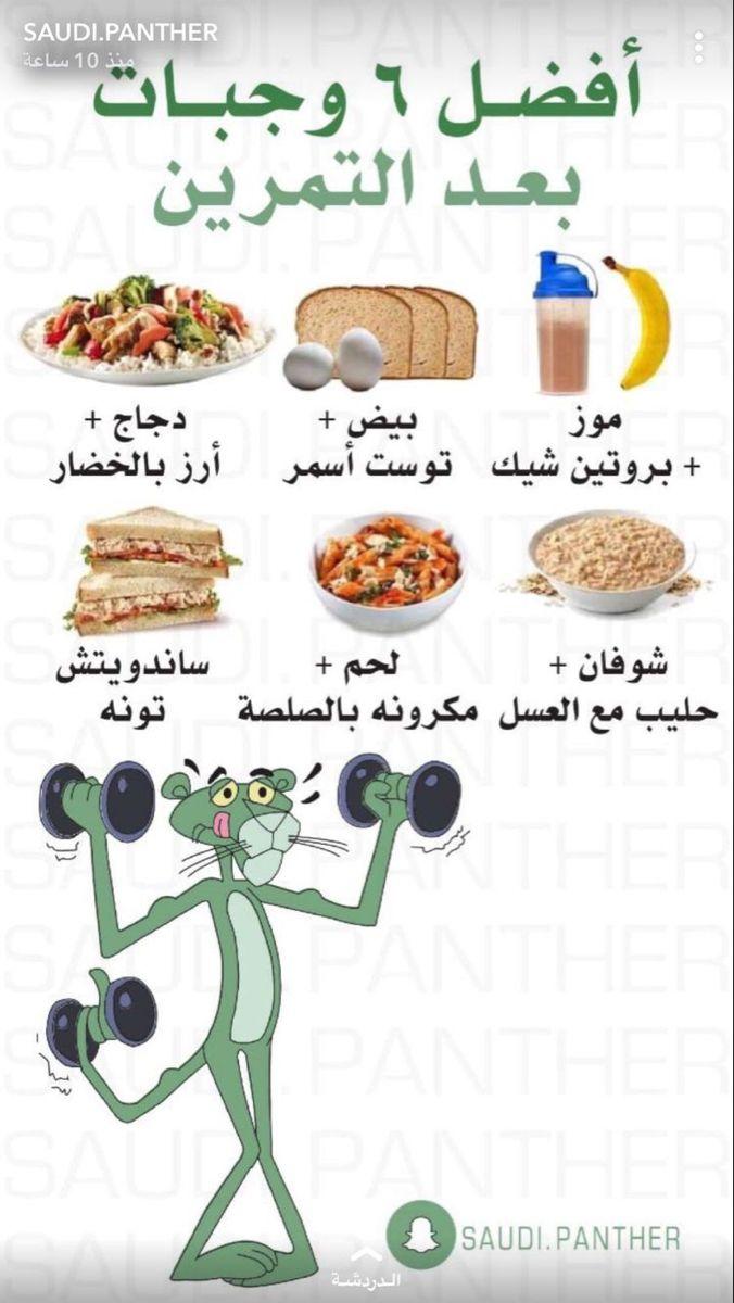 أفضل وجبات بعد التمرين Health Fitness Food Health Facts Food Health Fitness Nutrition