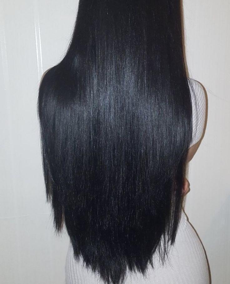 1000 Ideas About Long Dark Hair On Pinterest Dark Hair