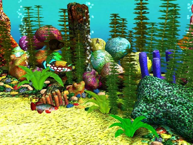 Free 3D Aquarium Screensaver | Download 3D Aquarium Screensaver