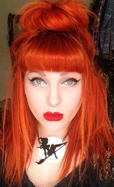 25 Best Ideas About Orange Hair Colors On Pinterest  Orange Hair Dye Fire