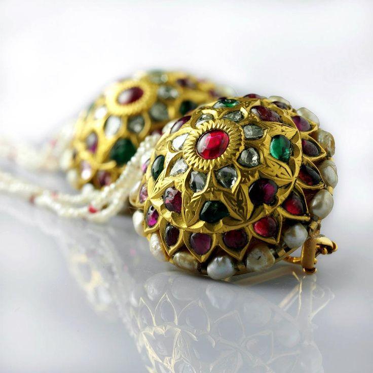 Rajasthani Borla Look Earing Jewellery Love Pinterest