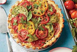 Tomato, Bacon, and Cheddar Pie – American Tomato Growers Association