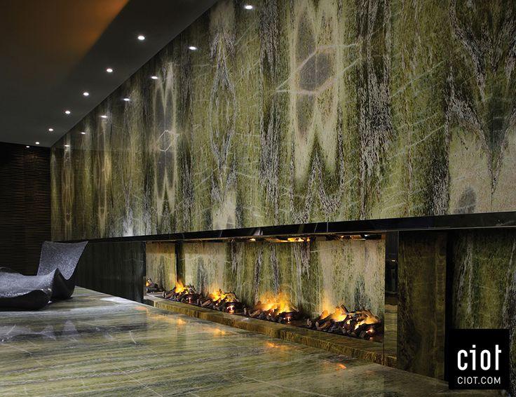 Wall Elegant And Timeless Irish Green Marble Au Mur
