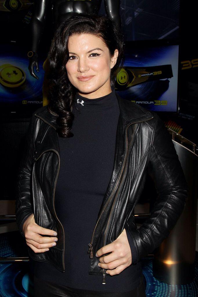 Gina Carano Teases 'Star Wars' Series 'The Mandalorian ...  |Gina Carano