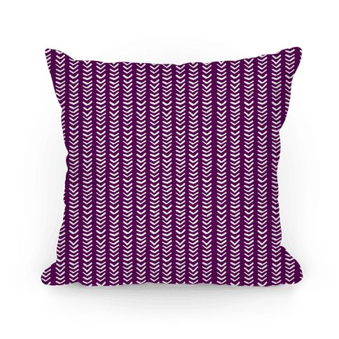 Mini Purple Chevron Pattern - Who doesn't love a trendy chevron pattern? This cute purple hand drawn chevron pattern the perfect pillow for your trendy home! Great by itself or paired with other pillows for cute pattern mixing. Let your creativity flow by making sets with these trendy and simple patterned pillows!