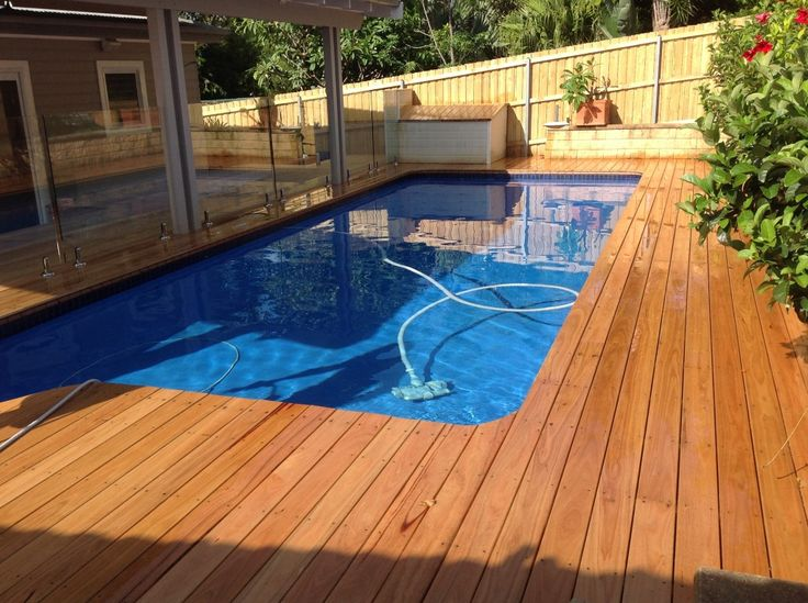 Blackbutt Pool Deck