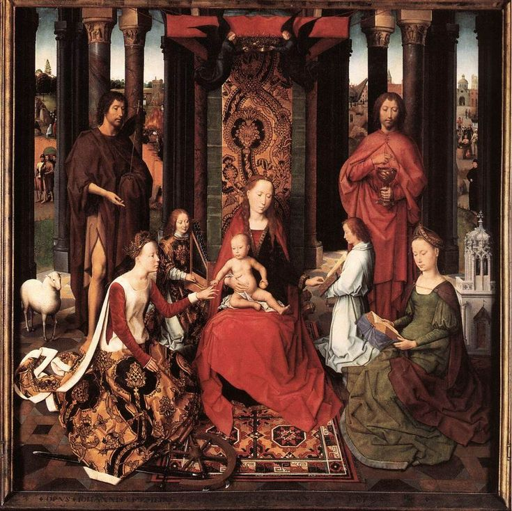 St. John Altarpiece (Center Panel) by Hans Memling