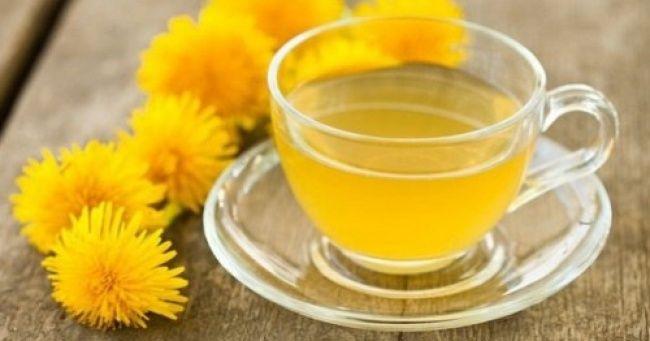 Chá dedente-de-leão