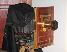 Large format. Popularly known as 'view cameras', these big guys are generally used in the studio or for very large industrial or architectural location work.