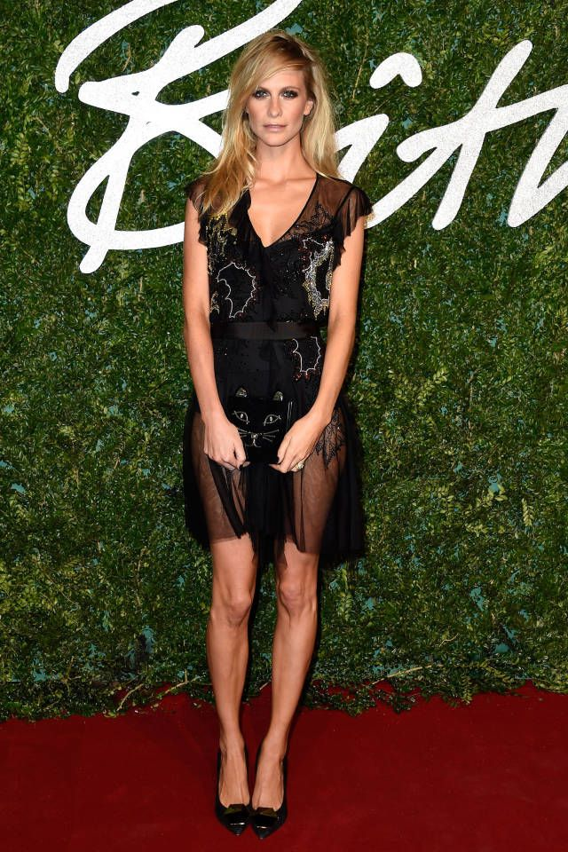 The best dressed celebrities and fashion insiders spotted at the 2014 British Fashion Awards.