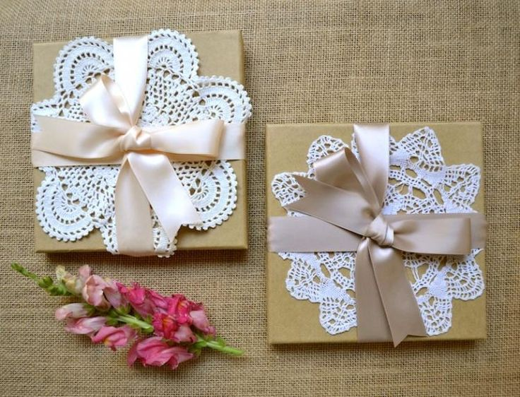 Embellish A Simple Invitation With Vintage Style Doilies To Give Your Stationery Crafty Handmade