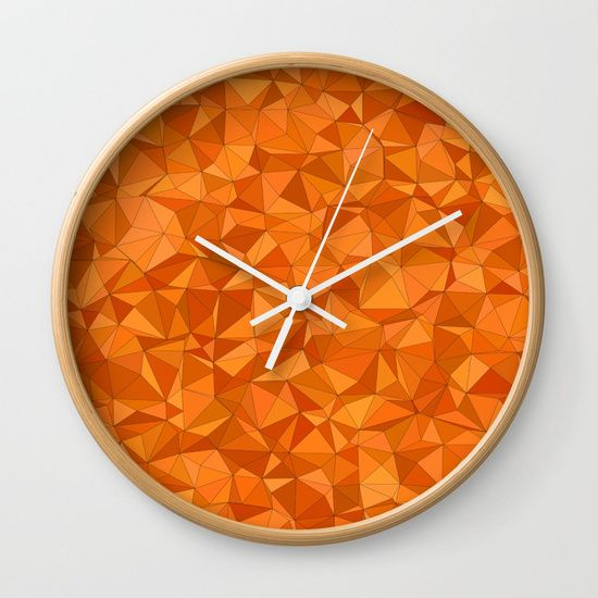 semless pattern Wall Clock by THARUNSUBBIAH. Worldwide shipping available at Society6.com. Just one of millions of high quality products available.