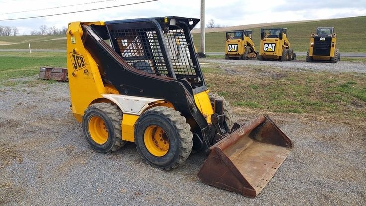 1998 Jcb 1105 Robot Series 3 Skid Steer Loader Diesel Engine Hydraulic Machinery