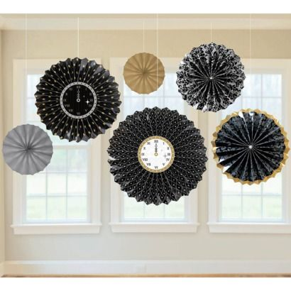 NYE paper fans
