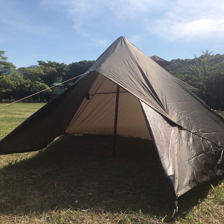 あのヒロシも愛用 まるでテントにもなる アレンジ無限の Ddタープ が無骨でかっこいい Camp Hack キャンプハック Ddタープ タープ テント