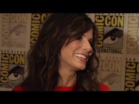 Sandra Bullock Says Her Son is George Clooney's Biggest Fan - Splash News - YouTube