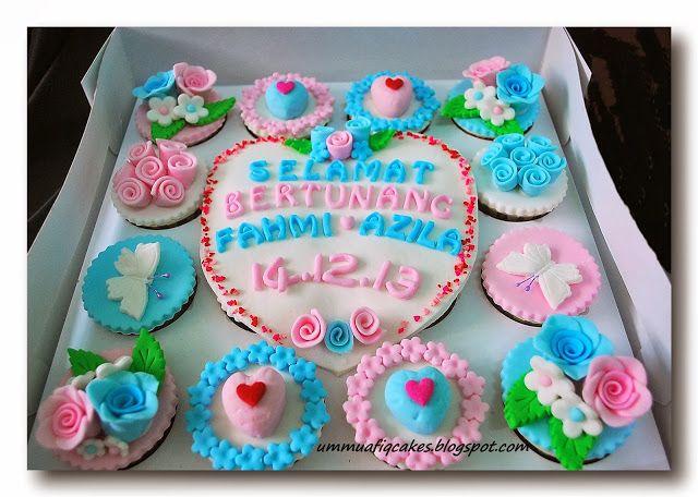 UMMU AFIQ CAKES GURUN, KEDAH   -    012 9291261 (CA0191723-A): 'BABY PINK' DAN 'BABY BLUE'.