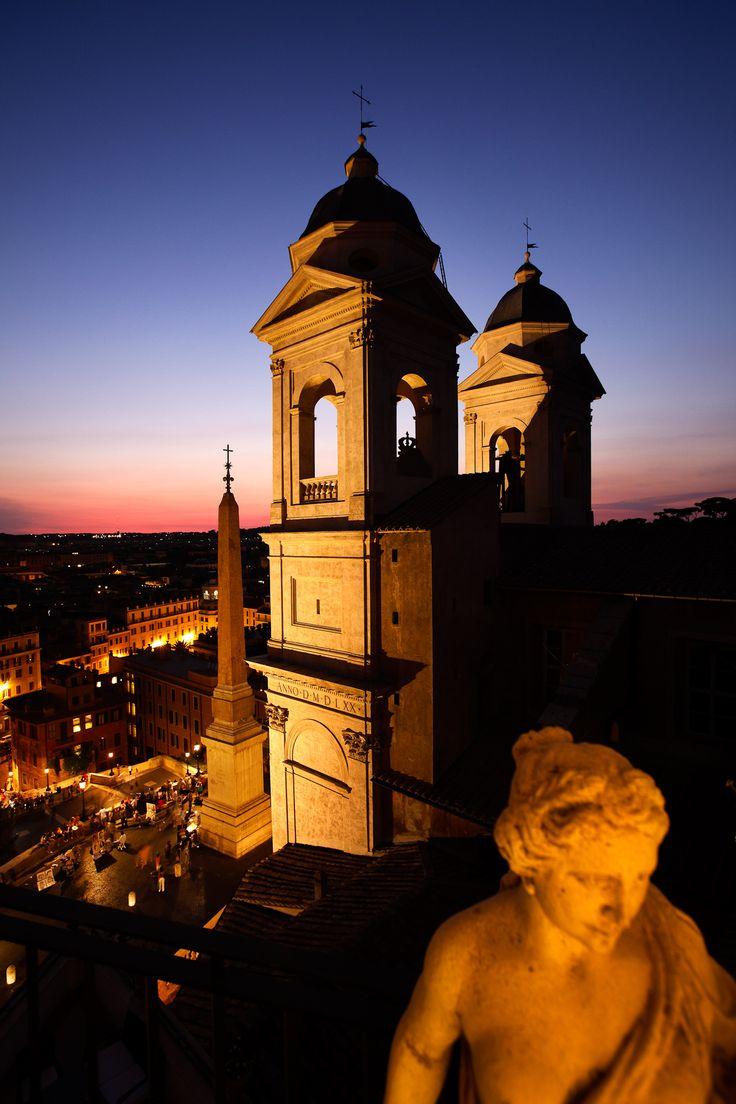 Trinita del Monti, Rome, Italy