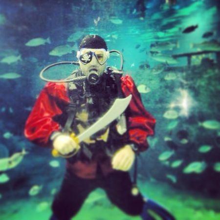 Underwater pirates @Turkuazoo Akvaryum aquarium